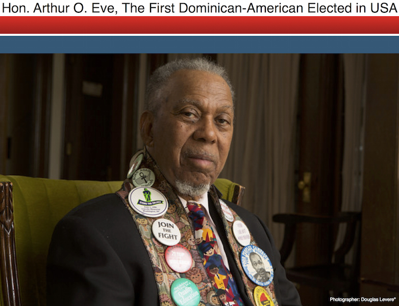 Arthur O Eve The First Dominican American Elected in the United States