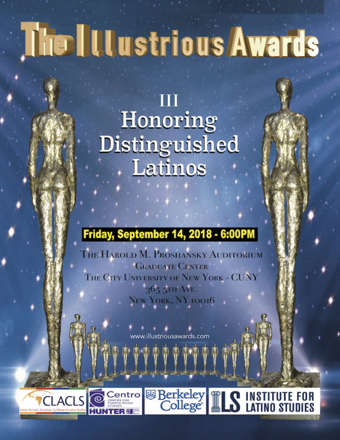 Invitation Illustrious Awards Sept 14 2018