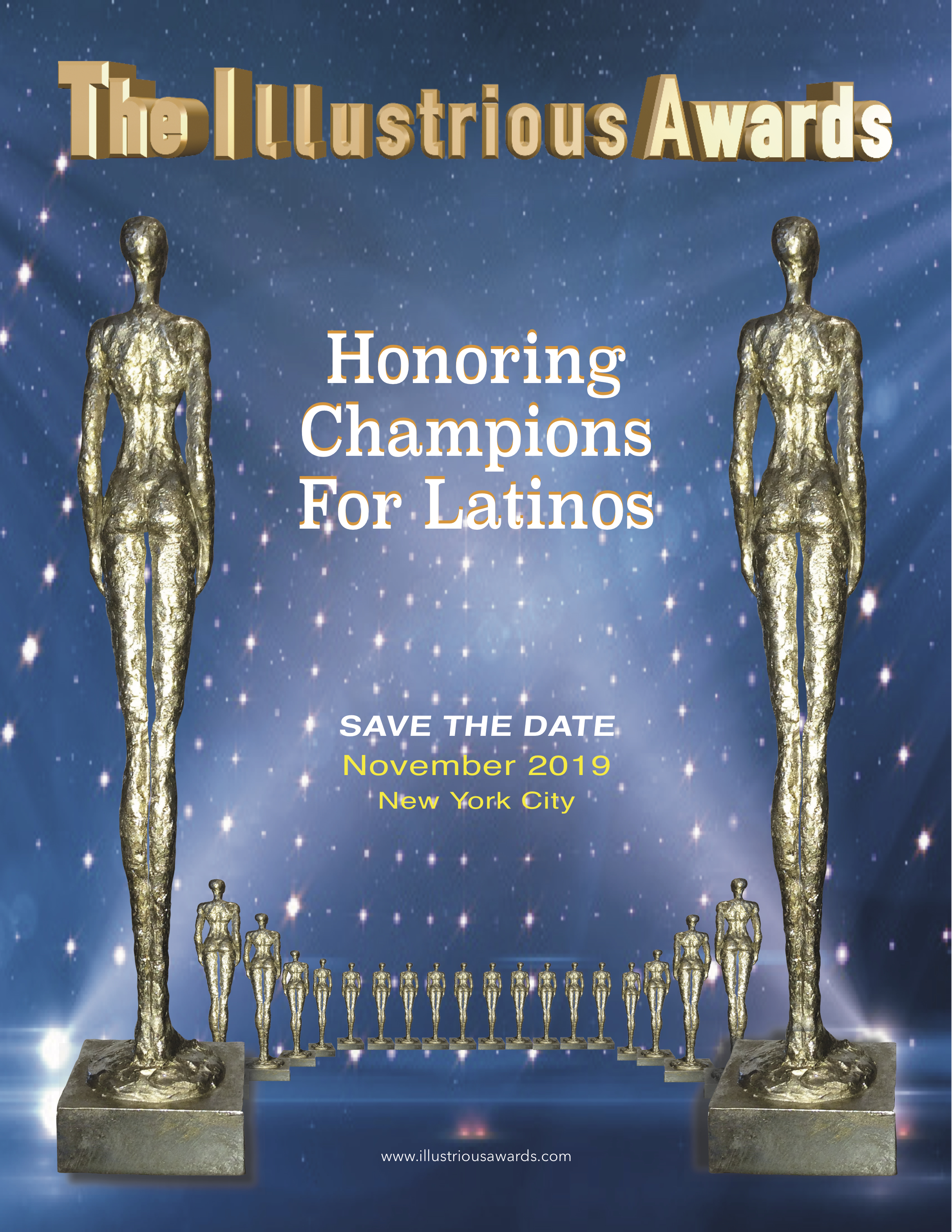 The Illustrious Awards- Honoring Champions for Latinos